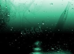 Fonds d'écran Art - Numérique verre  vert