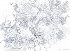 Fonds d'écran Art - Numérique BluePrint