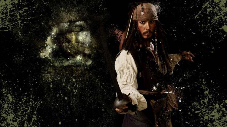 Wallpapers Movies Pirates of the Caribbean - The Curse Of The Black Pearl Jack Sparrow