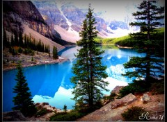 Wallpapers Trips : North America Lac Moraine