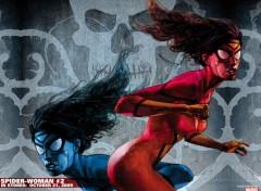 Fonds d'écran Comics et BDs spider woman
