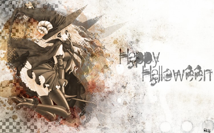 Wallpapers Manga Miscellaneous Happy Halloween!