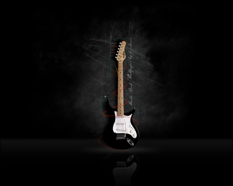 Wallpapers Music Instruments - Guitares le joker