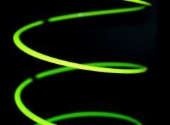 Photos Abstrait - Art Green Lantern.