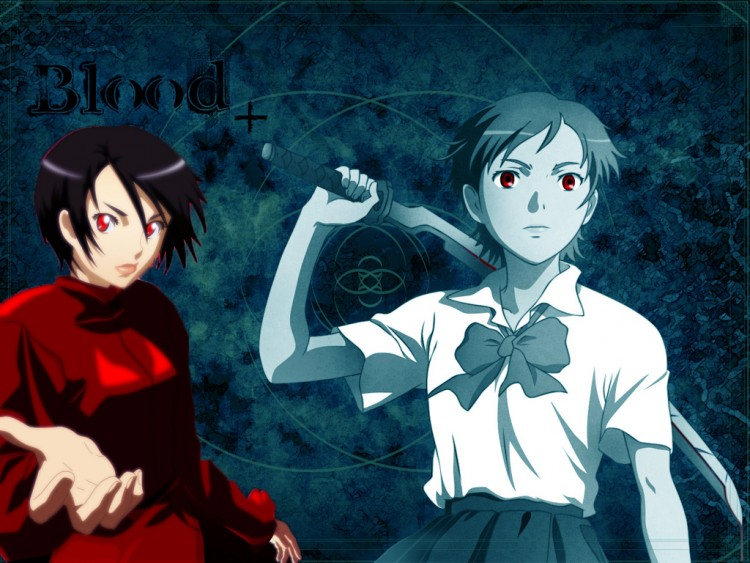 Fonds d'écran Manga Blood+ blood+