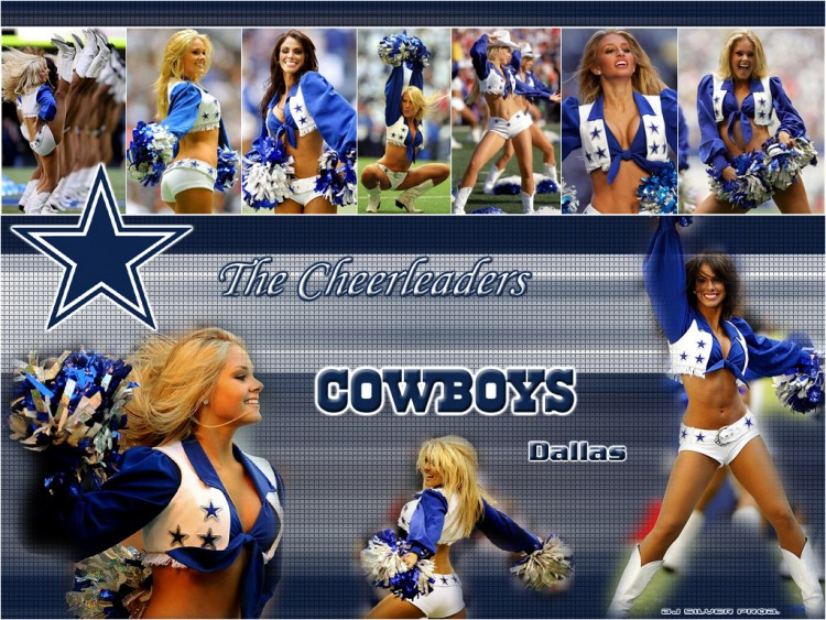 Fonds d'écran Sports - Loisirs Football Américain Dallas Cowboys Cheerleaders