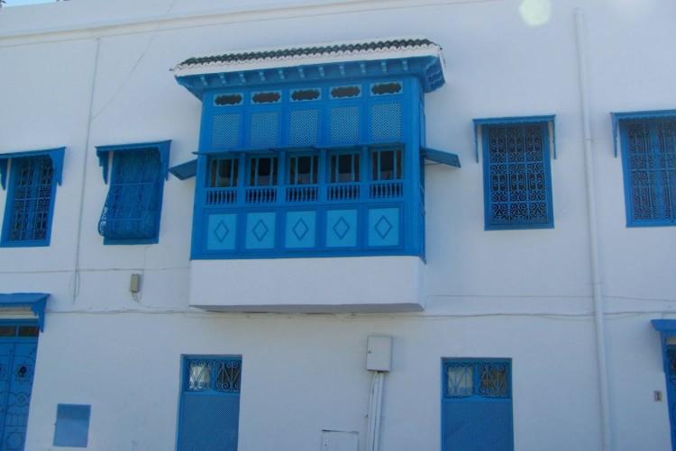 Fonds d'écran Voyages : Afrique Tunisie Sidi bou Saïd (la ville bleu)