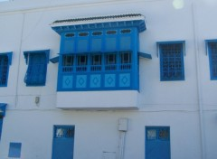 Fonds d'écran Voyages : Afrique Sidi bou Saïd (la ville bleu)