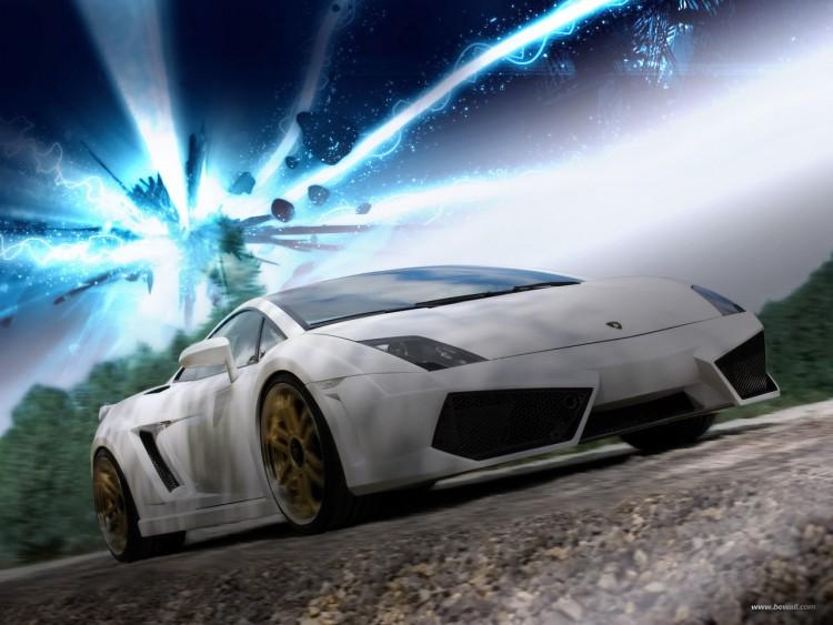 Fonds d'écran Voitures Lamborghini Lamborghini Gallardo LP 560-4 IMSA by bewall.com