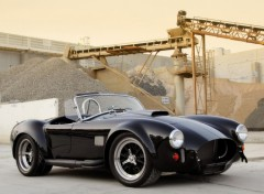Wallpapers Cars AC Cobra black