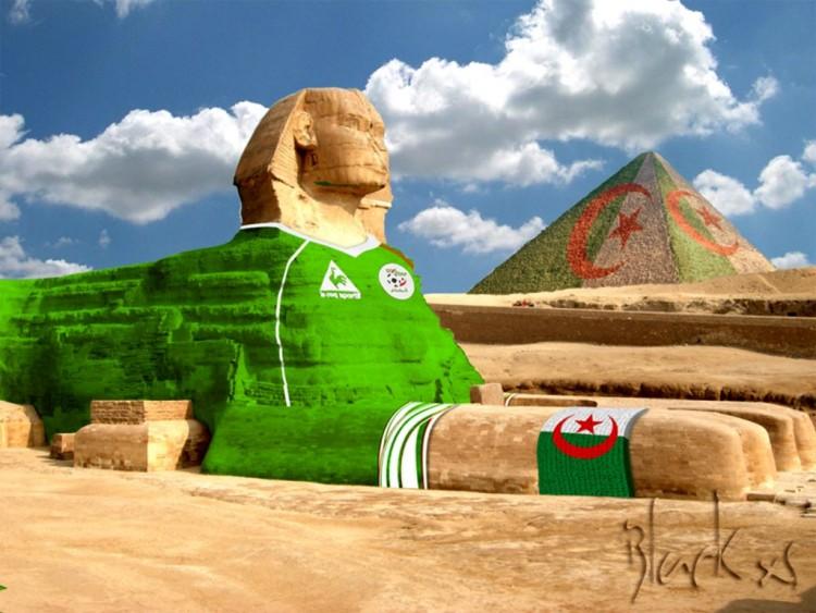 Fonds d'écran Humour Divers algerie egypte