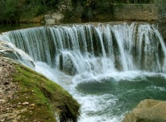 Wallpapers Nature Cascade sur La Vis entre Ganges et Saint-Laurent-Le-Minier (34)