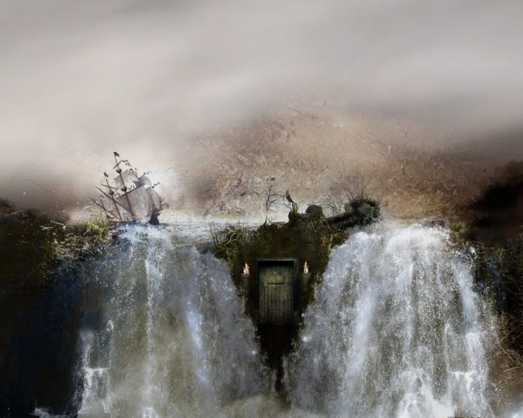 Fonds d'écran Art - Numérique Fantastique les 2 mondes