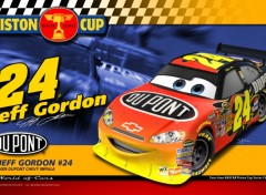 Fonds d'écran Dessins Animés Jeff Gordon - Piston Cup Racer
