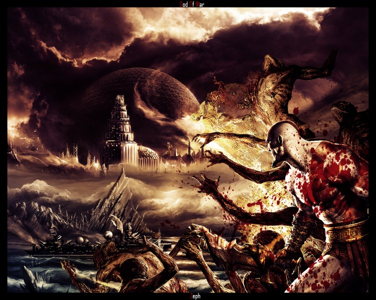 Wallpapers Video Games God Of War 2 God Of War