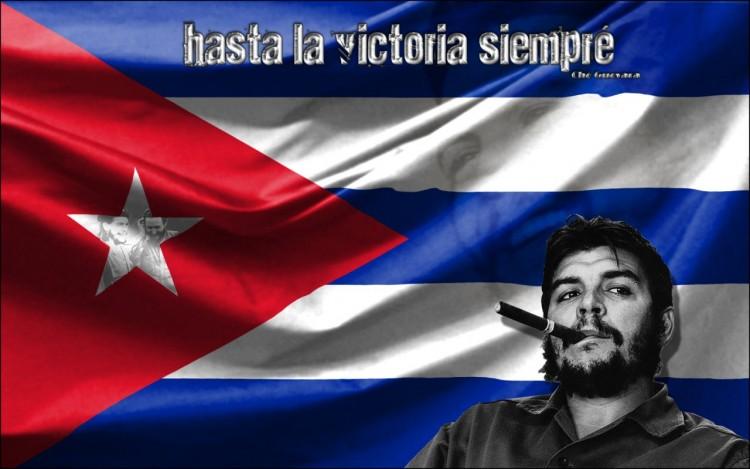 Fonds d'écran Célébrités Homme Che Guevara Hasta la victoria siempré !