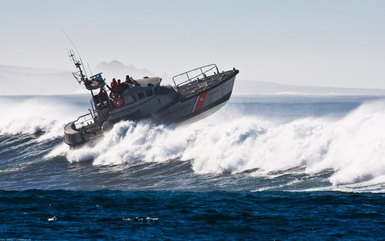 Wallpapers Boats Motorboats US Coast Guard