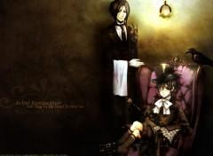 Fonds d'écran Manga Ciel et Sebastian