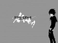 Wallpapers Manga Death note ( L )