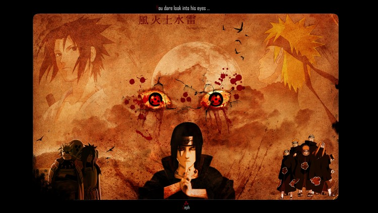 Wallpapers Manga Naruto Sharingan Tears
