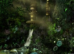 Wallpapers Digital Art Magical garden
