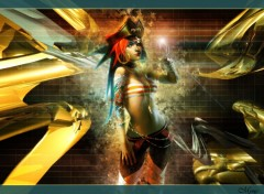 Wallpapers Fantasy and Science Fiction Wall Pirate Girl