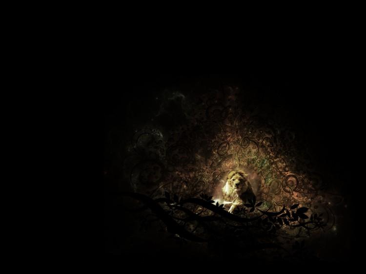 Fonds d'écran Art - Numérique Animaux lion