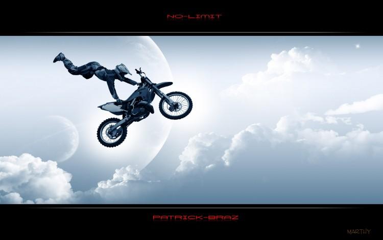Fonds d'écran Motos Motocross No limit