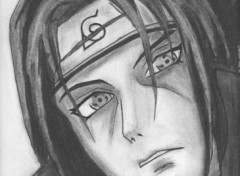 Wallpapers Art - Pencil Itachi Uchiha