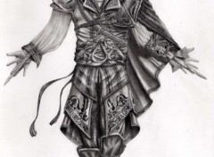 Fonds d'écran Art - Crayon Ezio Auditore da Firenze - Assassin's Creed II