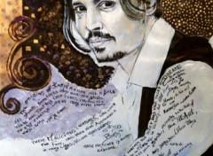 Fonds d'écran Art - Peinture Johnny Depp #01