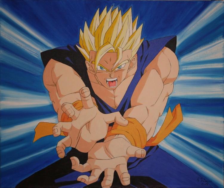 Fonds d'écran Art - Peinture Manga sangohan