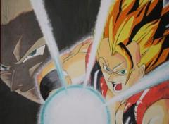 Fonds d'écran Art - Peinture Gogeta 2