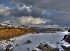 Fonds d'écran Nature Neige à Plouarzel (Finistère)