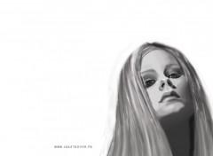 Fonds d'écran Art - Numérique Avril Lavigne (dessin)