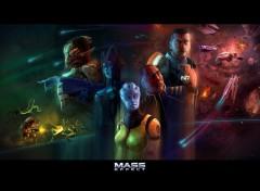 Fonds d'écran Jeux Vidéo Mass Effect