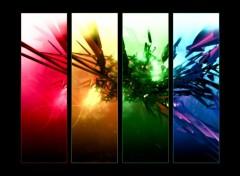 Fonds d'écran Art - Numérique Rainbow Abs.