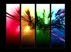 Wallpapers Digital Art Rainbow Abs.