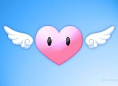 Fonds d'écran Art - Numérique L'amour donne des ailes