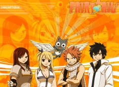 Fonds d'écran Manga Fairy Tail