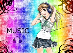 Wallpapers Manga Music