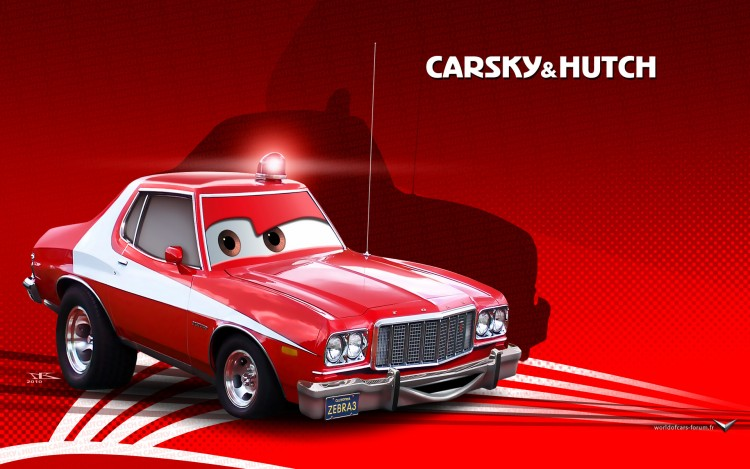 Wallpapers Cartoons Cars 1 and 2 Carsky & Hutch