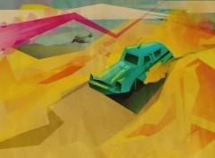 Fonds d'écran Art - Numérique Road trip?