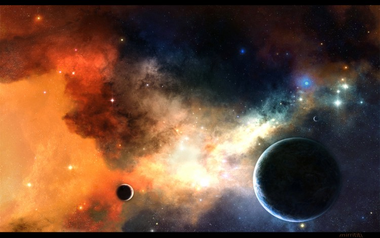Fonds d'écran Art - Numérique Espace - Univers Nuage cosmique