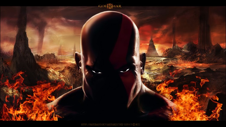 Wallpapers Video Games God Of War 3 Kratos