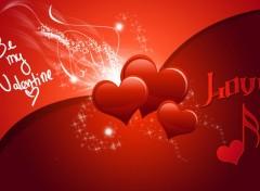 Fonds d'écran Art - Numérique Be my Valentine