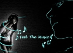 Wallpapers Digital Art Feel the Music