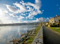 Fonds d'écran Nature Rive droite du Rhône à Condrieu