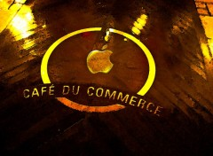 Wallpapers Digital Art cafe du commerce il de re