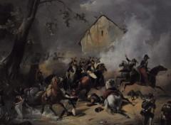 Fonds d'écran Art - Peinture Horace VERNET, Paris 1789. Paris 1863 . La Bataille